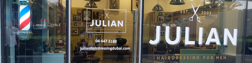 julian hairdressing men dubai